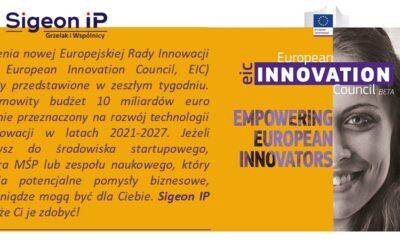 Granty Europejskiej Rady ds Innowacji