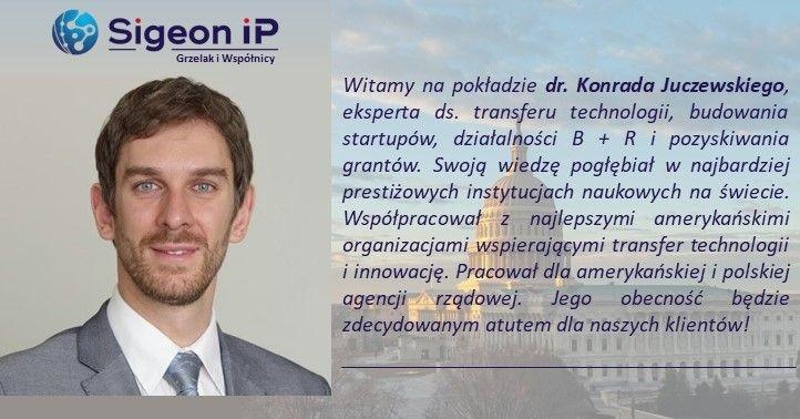 Witamy dr. Konrada Juczewskiego