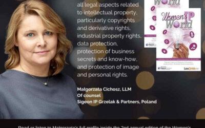 mec Małgorzata Cichosz w Women's IP World 2021